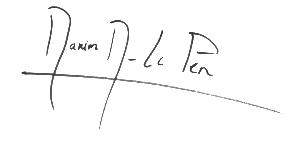 Signature Marion Maréchal-Le Pen